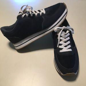 Pull & Bear Navy Blue Sneakers Walking Shoes 40